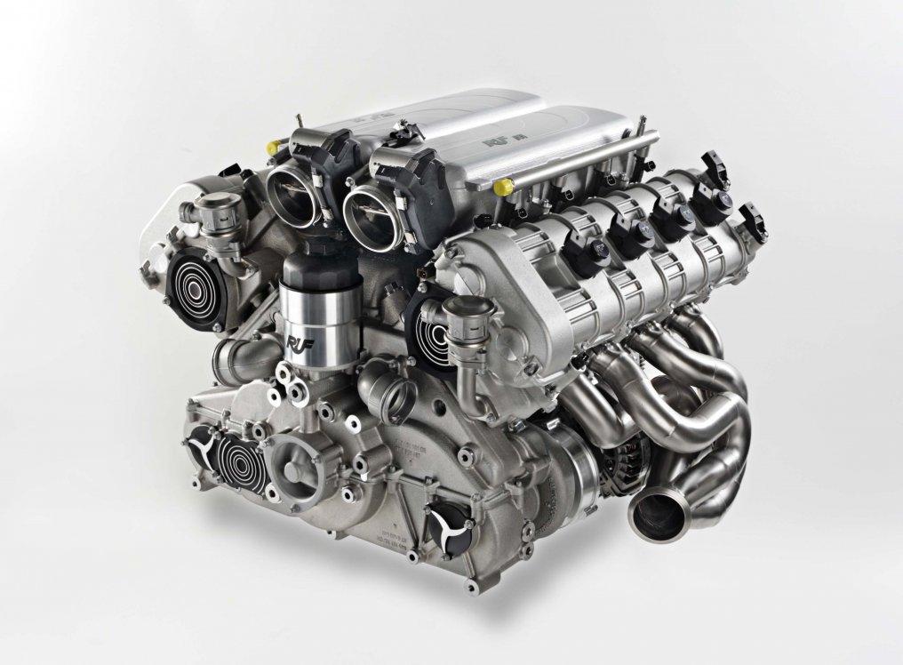 Ruf-8-Zylinder-Motor