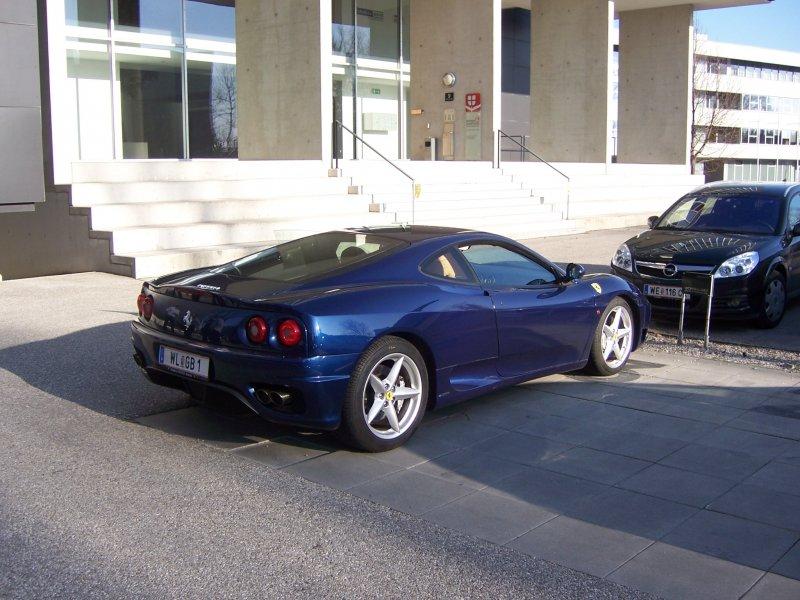 Unser F360 Modena