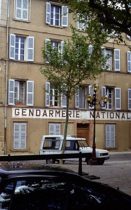 Kultstätte: Gendarmerie