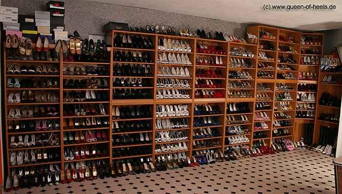 Unsere Schuhsammlung