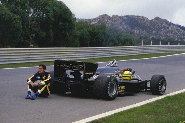 Die F1-Anfänge im JPS-Lotus.