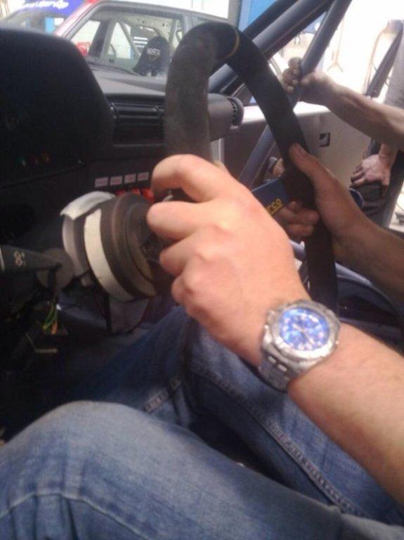 neue Lenkung aus dem M3, verstellbar