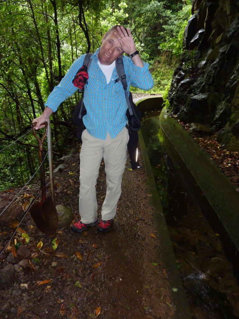 Fix und fertig. ;-))))  Madeira Levadawanderung