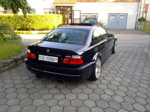 M3 e46 Coupe Haus Heck