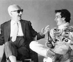 1981 mit Gilles in Monte