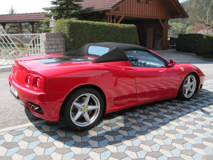 Ferrari David hinten rechts