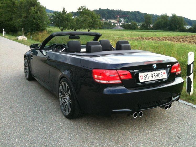BMW M3 e93 Seite
