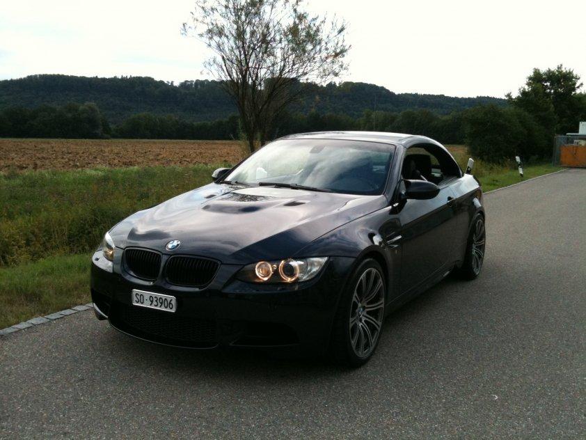 BMW M3 e93 Front geschlossen
