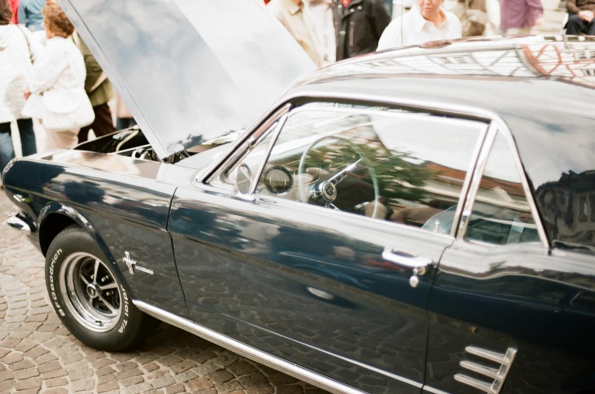 Dieser Mustang stand zum Verkauf.