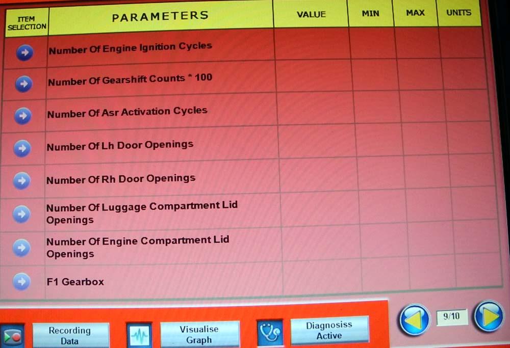 Parameters 9 1000