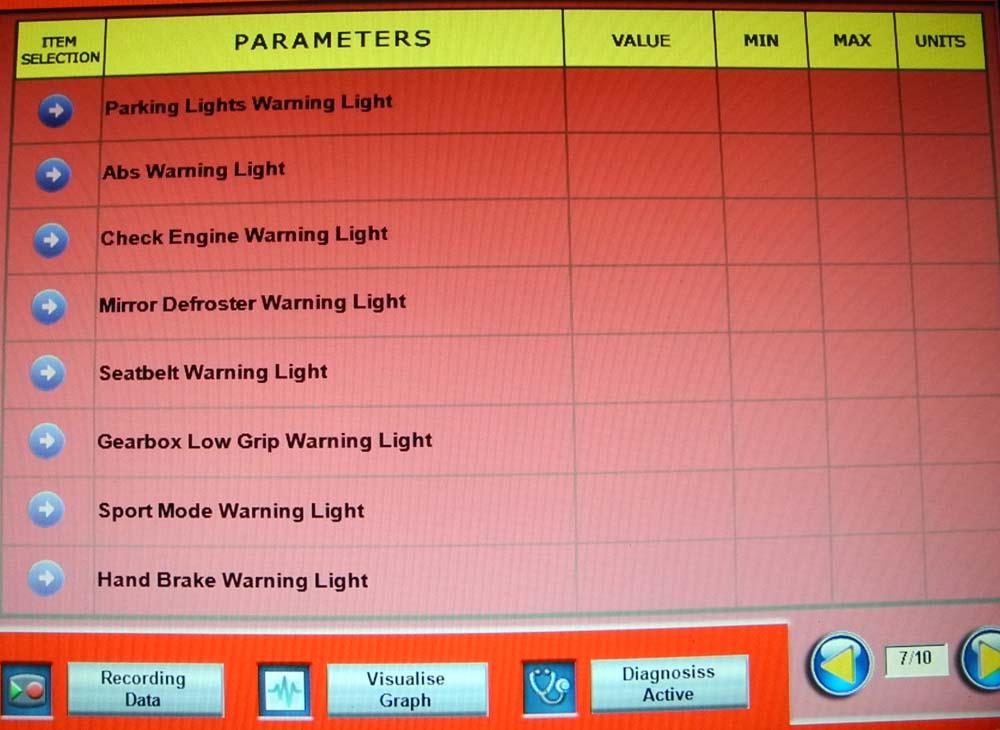 Parameters 7 1000