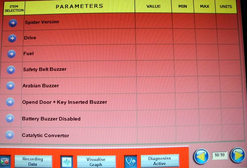 Parameters 10 1000