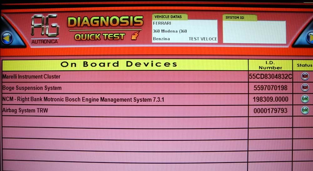 Quick Diagnose komplett 1000