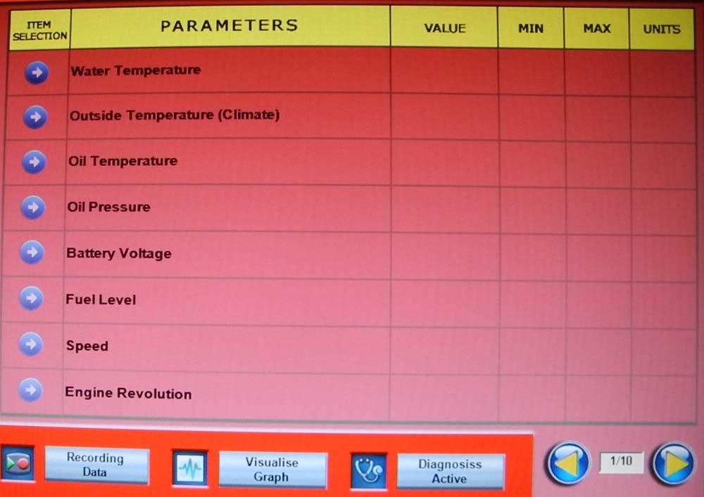 Parameters 1 1000