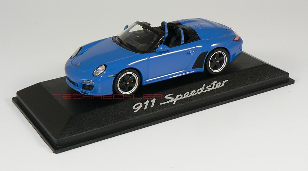 Porsche 997 Speedster Blau 2