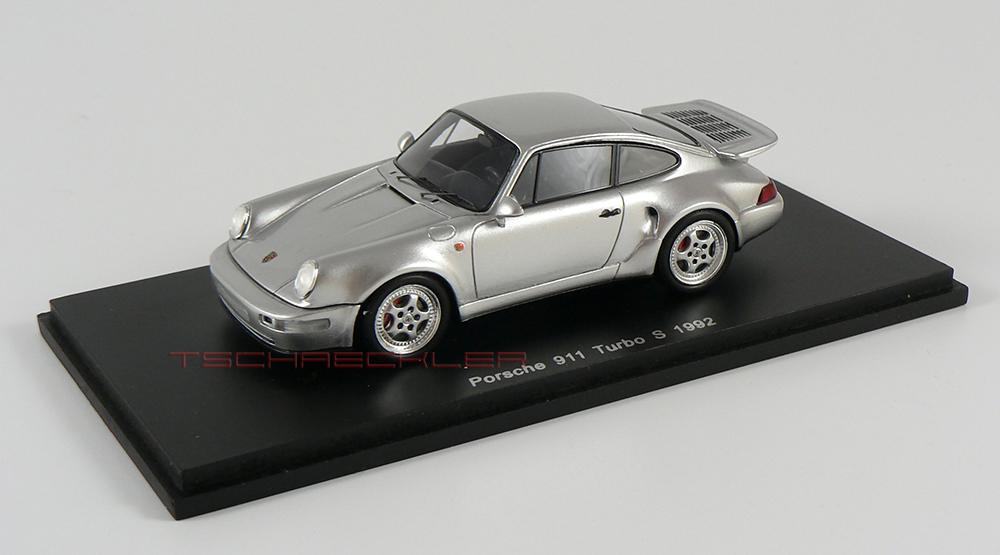 Porsche 964 Turbo S Silber 2