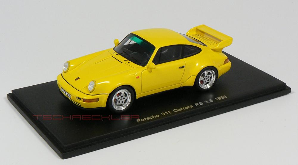 Porsche 964 RS 38 Gelb 1000