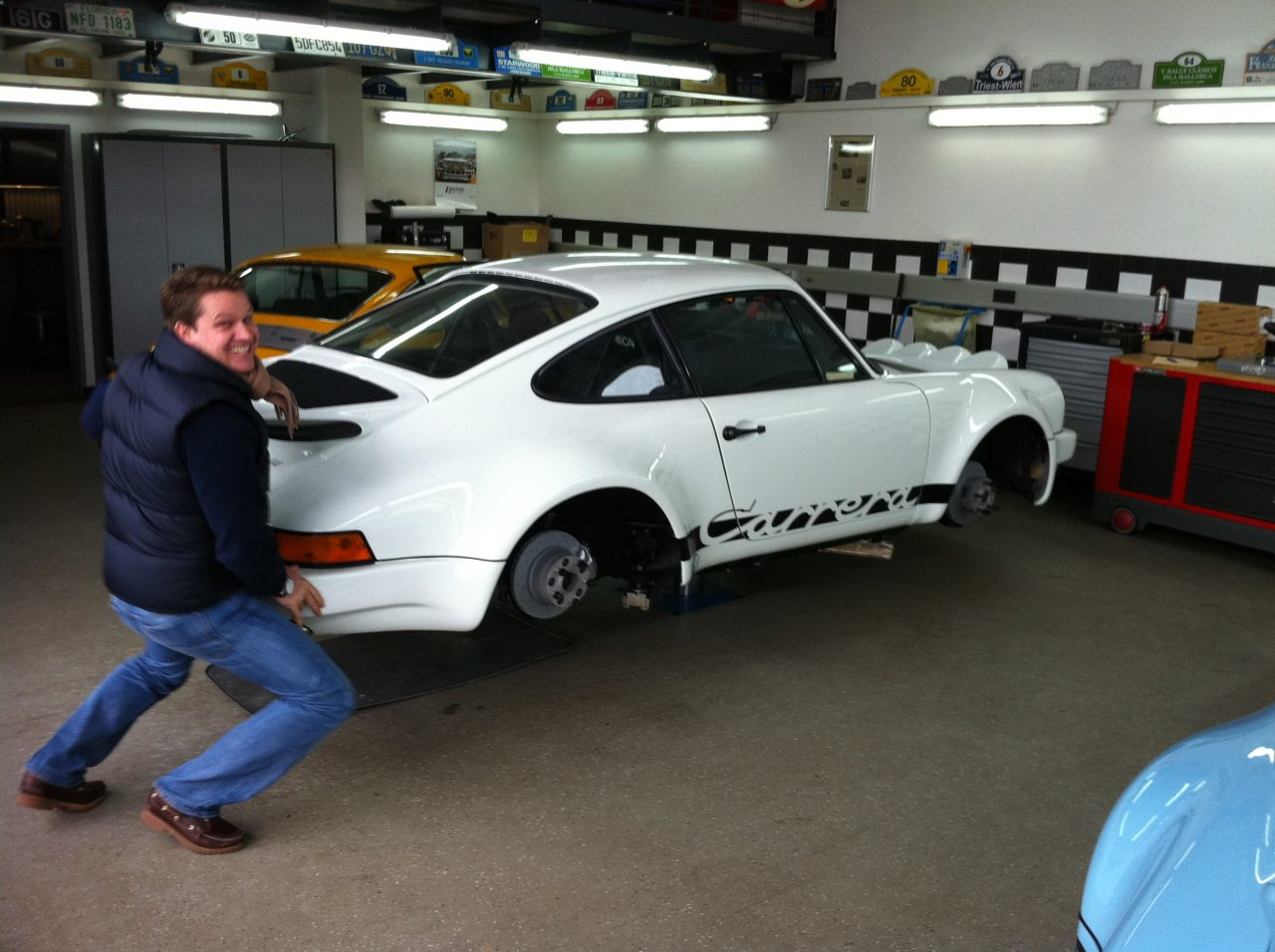 Porsche 911 3,0l RS Rallye