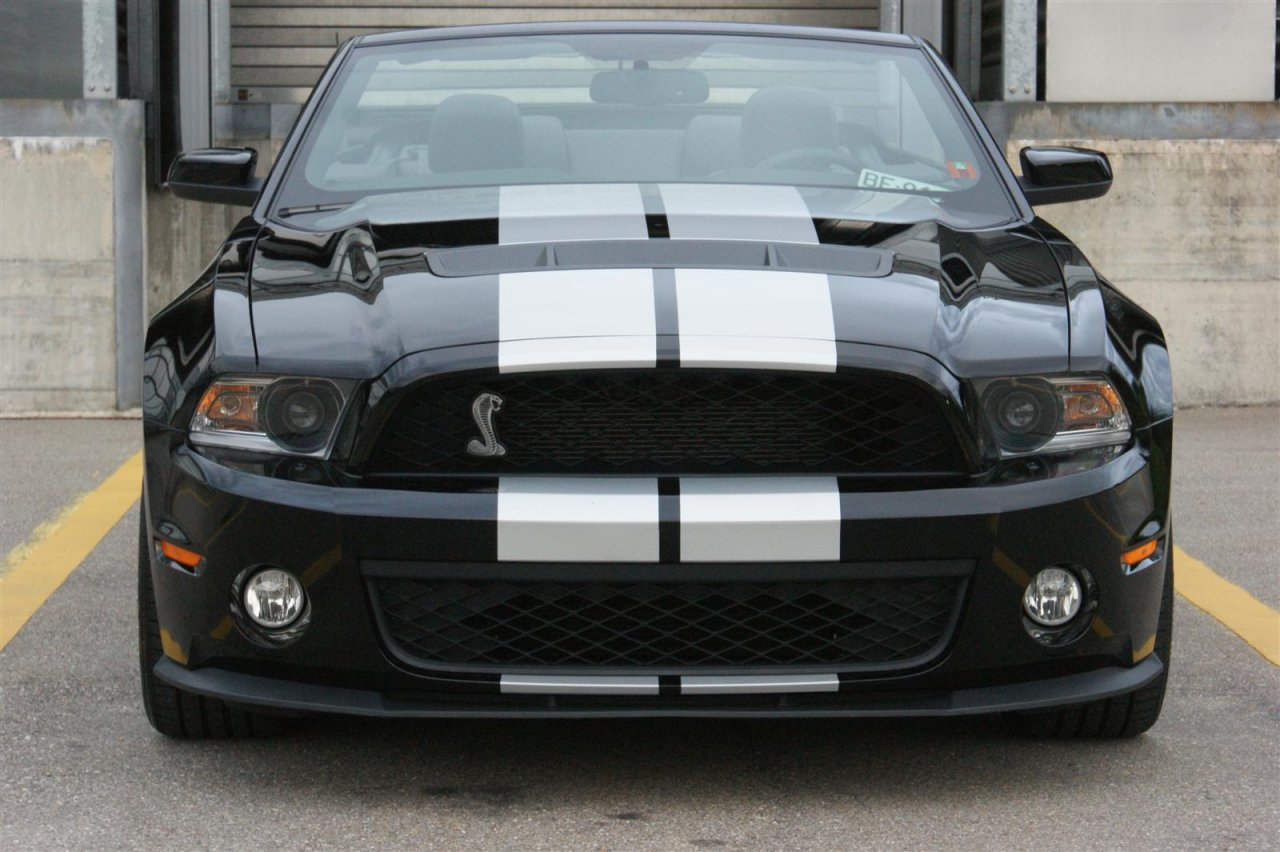 Ford Shelby GT500 Convertible (2010'er)