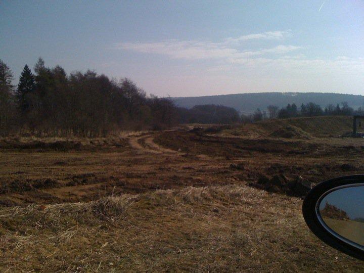 """Bilster Berg drive resort  gegen die Fahrtrichtung  hier kommen wir hoch und fahren dann Richtung """"Mausefalle"""""""