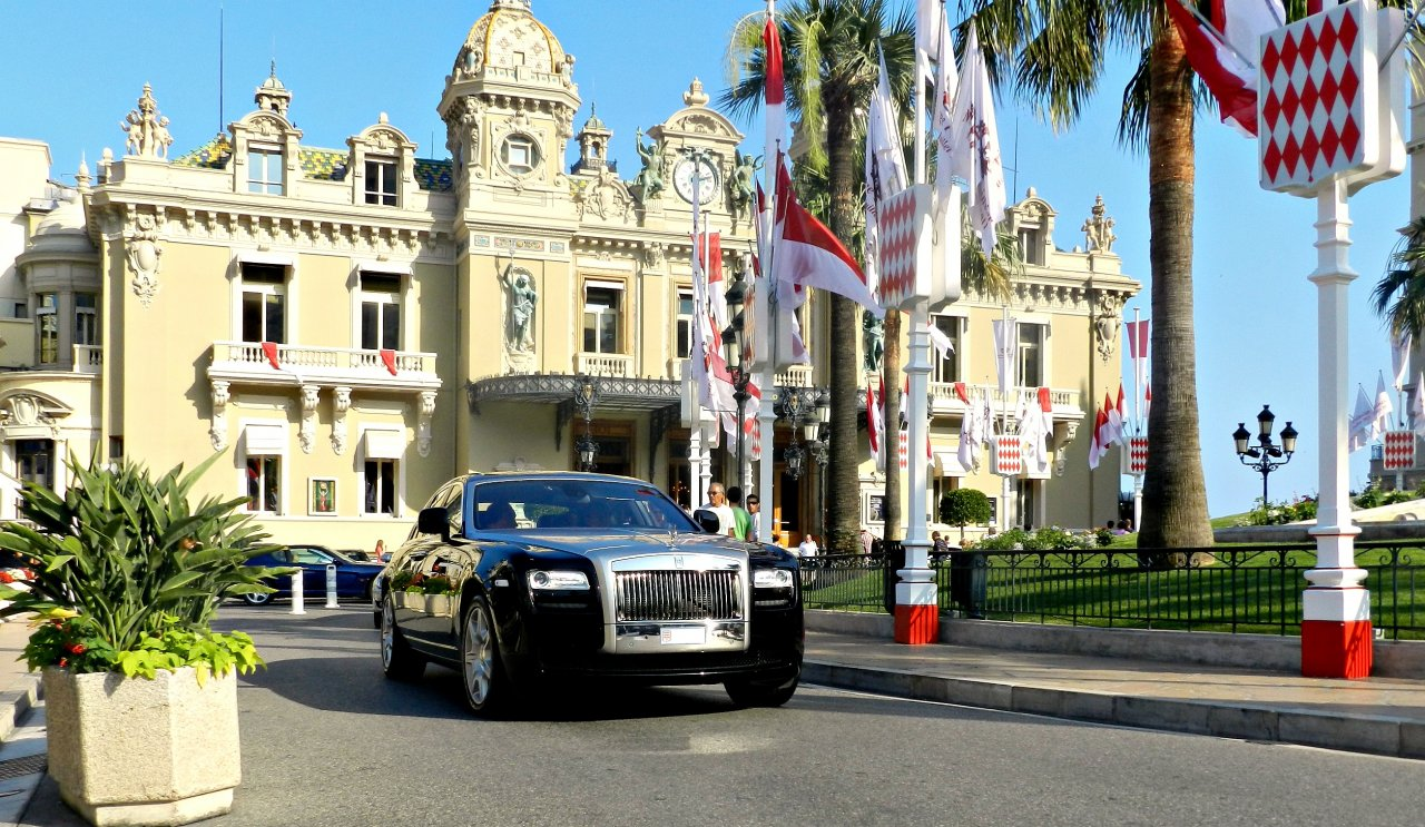 Rolls Royce Ghost in Monaco