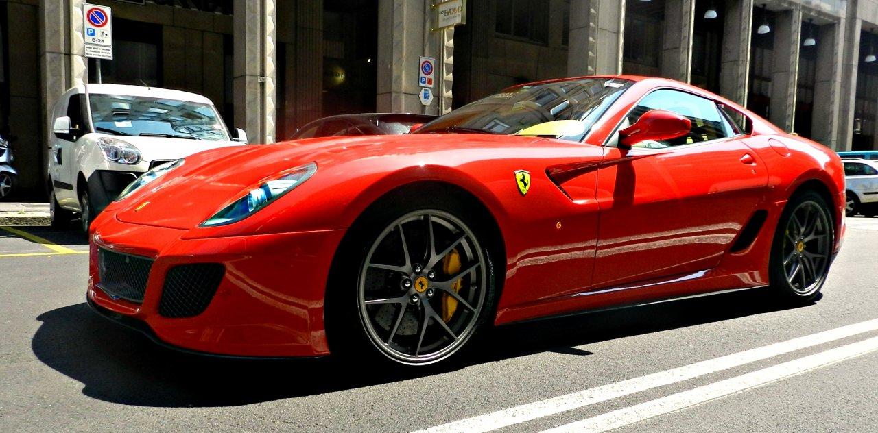 Ferrari 599 GTO in Mailand