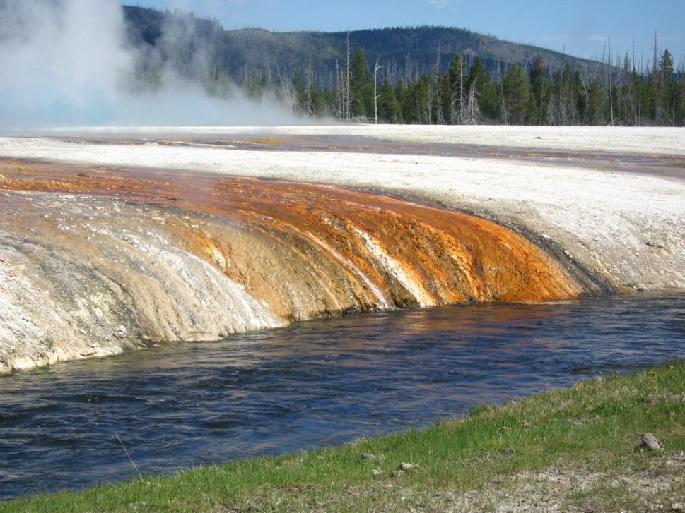 Heisse Quellen im Yellowstone Nationalpark.