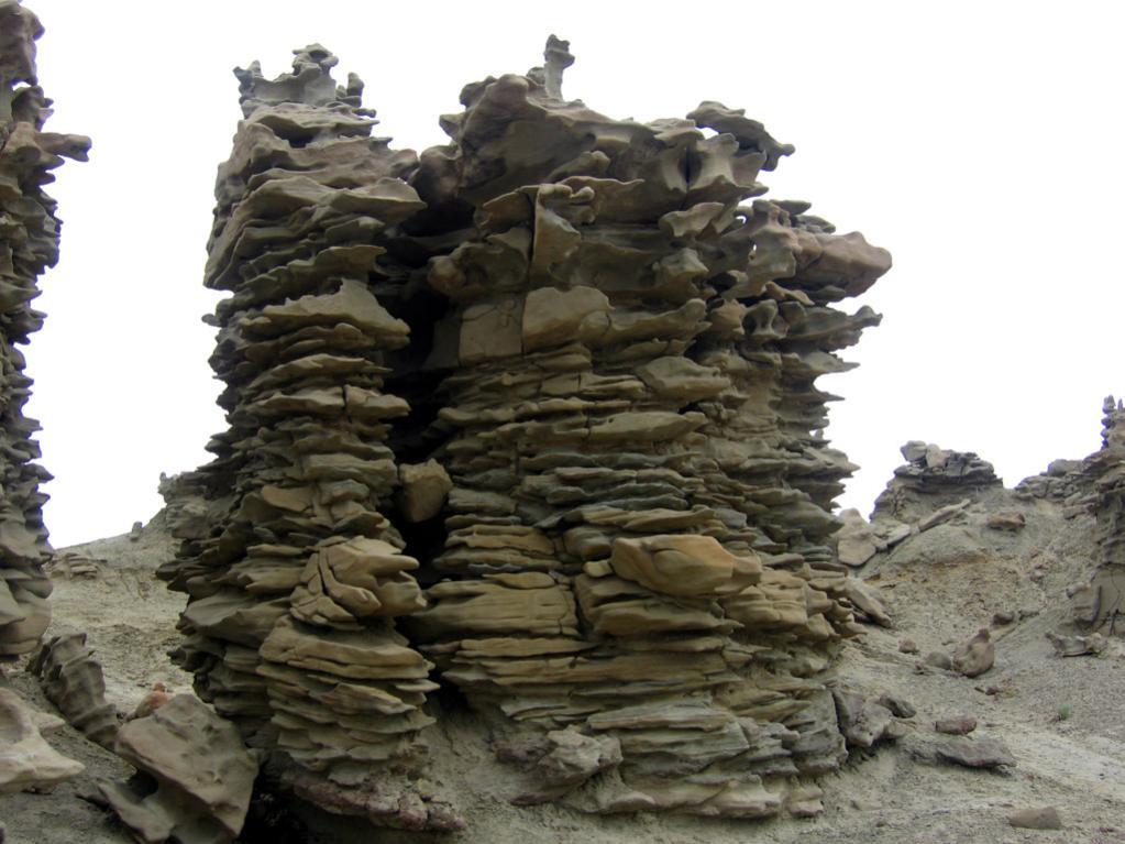 Der Fantasy Canyon. Hier sieht man eine Menge Gebilde, die irgendwelchen Objekte gleich sehen.