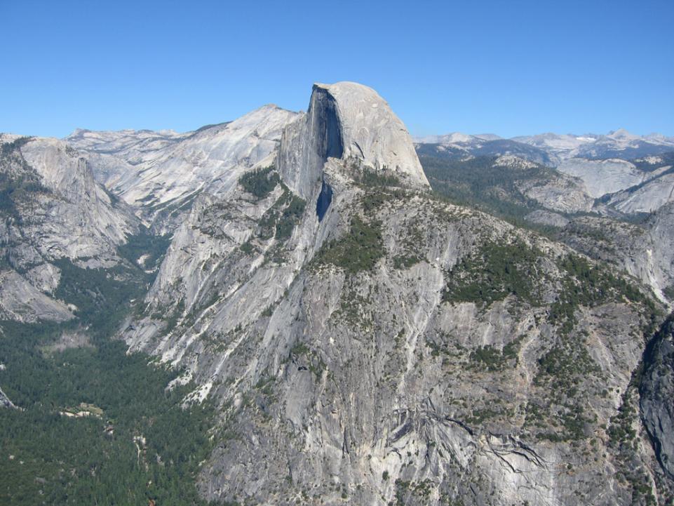 Der Halfdome im Yosemite Nationalpark.