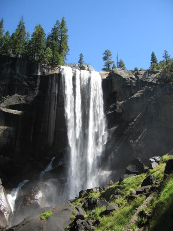 Der Vernal Fall im Yosemite N.P.