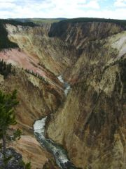 Der Grand Canyon of the Yellowstone.