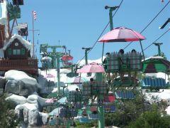 Jaja, die verrückten Amis. Man beachte, das hier ist kein Skiparadies sondern ein Wasserpark.