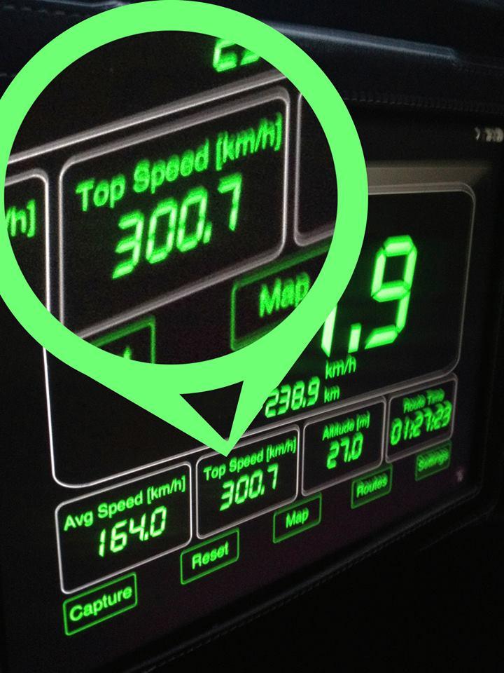 300,7 km h
