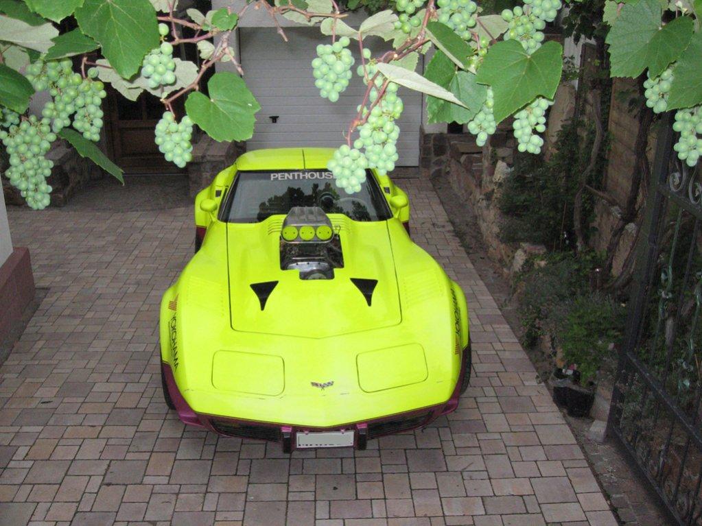 79 Corvette mit 6.71 Blower