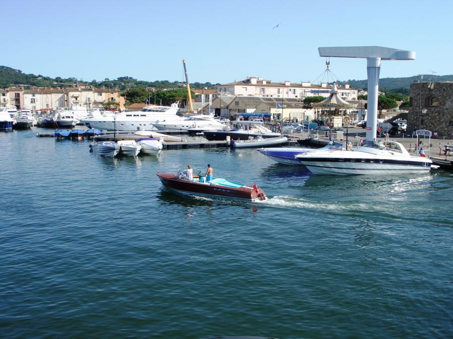 Heimkehr in den Hafen von St. Tropez