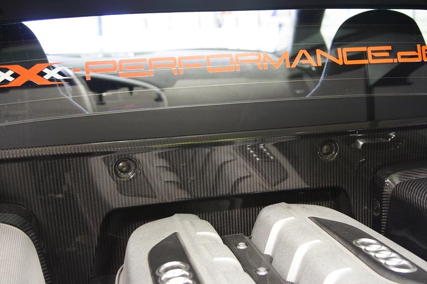 Unser Audi R8 5,2 L V10