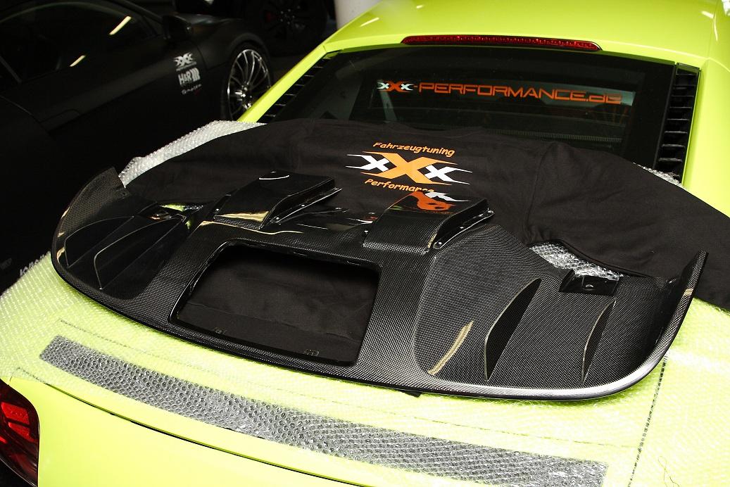 Audi R8 V8 Carbondiffusor