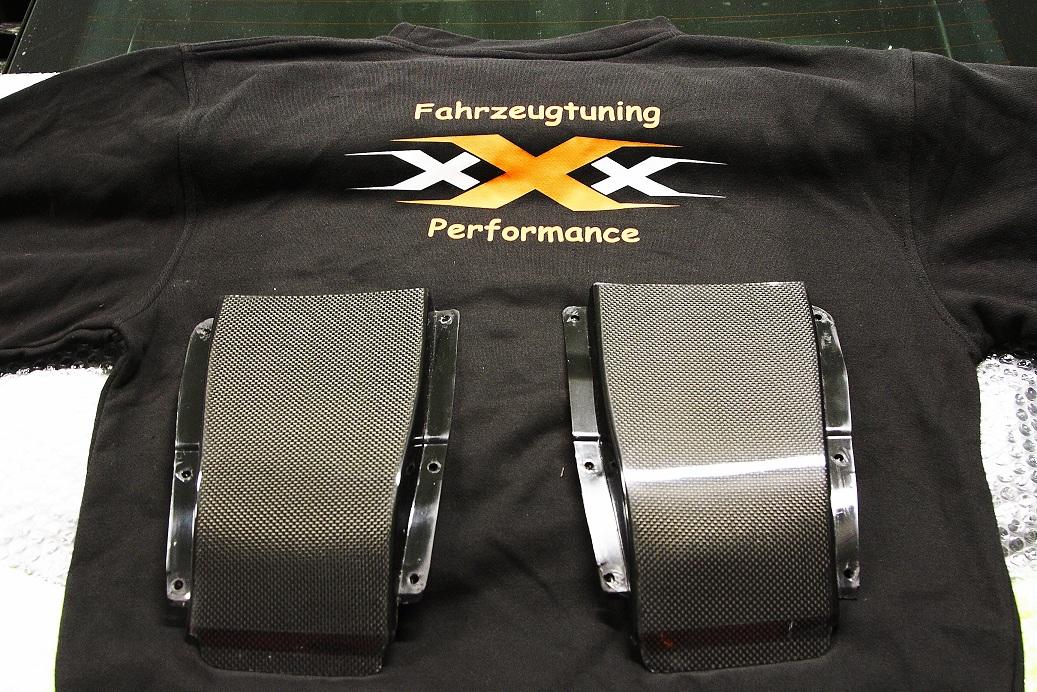 Audi R8 V8 Klappen für Carbondiffusor