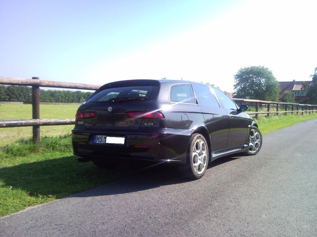 156 GTA hinten