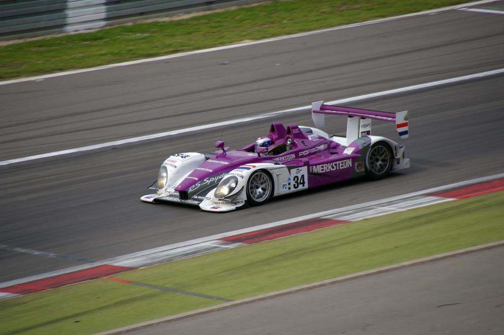 Porsche RS Spyder - van Merksteijn Motorsport -