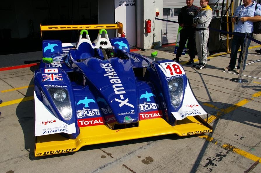 Pescarolo Judd - Rollcentre Racing -