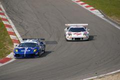 Ferrari F430 GT - JMB -  Lamborghini Murcielago R-GT - IPB Spartak Racing -