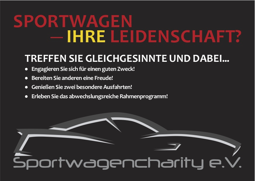 1. Sportwagencharity Nürnberg