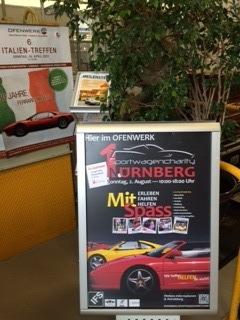 Ersten Plakat - speziell für das Italientreffen im Ofenwerk