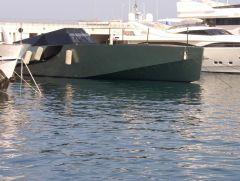 2002er Wally 118 in Monte Immerhin 36 m lang und 3 Gasturbinen mit je 5.600 PS