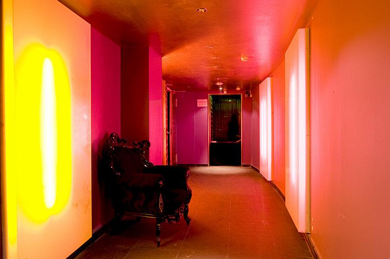 Eingangsbereich und Garderobe des PRIVILEGs