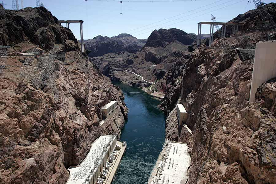 Hoover Dam Brückenbau