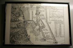 Hoover Dam Zeichnung