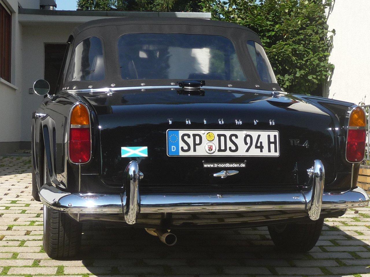 50 Jahre muß man erst mal werden - Triumph TR4