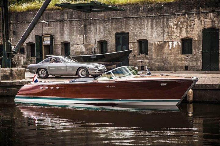 Riva mit Lamborghini-Motor